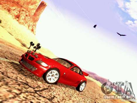 BMW Z4 Rally Cross para GTA San Andreas traseira esquerda vista