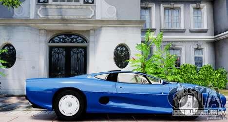 Jaguar XJ 220 para GTA 4 esquerda vista