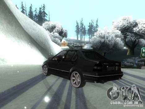 Renault 19 Chamade para GTA San Andreas vista direita
