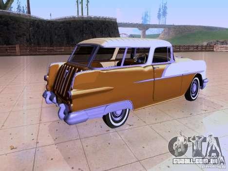 Pontiac Safari 1956 para GTA San Andreas traseira esquerda vista