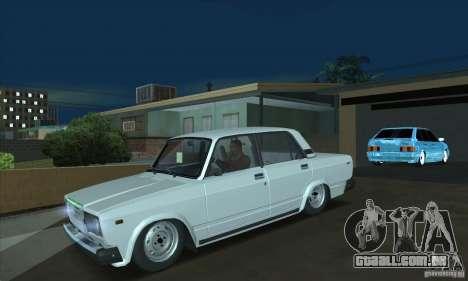 Aquário de 2107 VAZ para GTA San Andreas