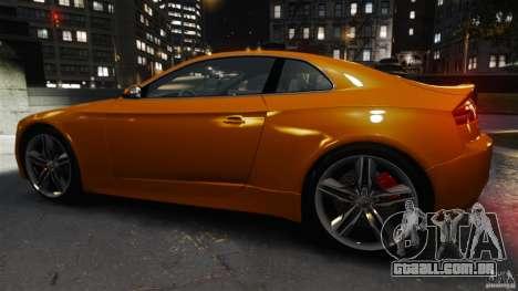 Audi S5 Conceptcar para GTA 4 esquerda vista