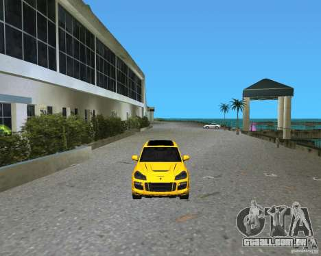 2009 Porsche Cayenne Turbo para GTA Vice City deixou vista