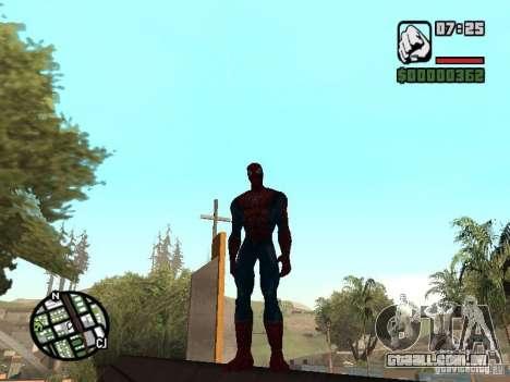 Spider Man From Movie para GTA San Andreas quinto tela