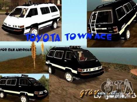 Toyota Town Ace para GTA San Andreas