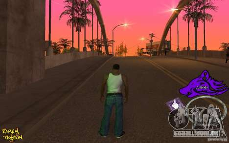 C-HUD by Roodney para GTA San Andreas terceira tela