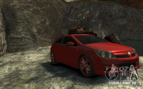 Vauxhall Astra VXR 2006 para GTA 4 vista de volta