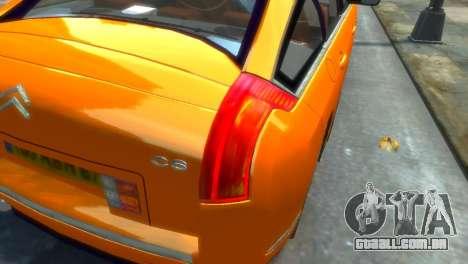 Citroen C6 para GTA 4 esquerda vista