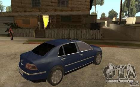 Volkswagen Phaeton 2005 para GTA San Andreas vista direita