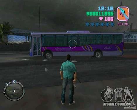 Marcopolo Bus para GTA Vice City deixou vista