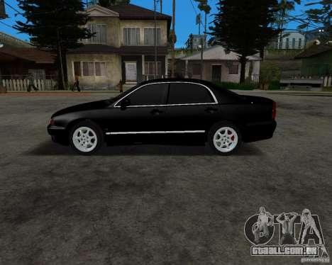 Mitsubishi Diamante para GTA San Andreas esquerda vista