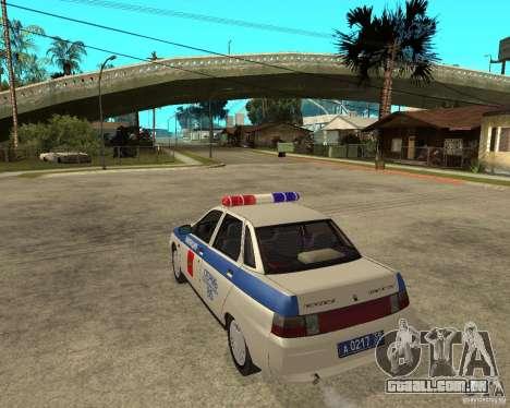 LADA 21103 DPS para GTA San Andreas esquerda vista