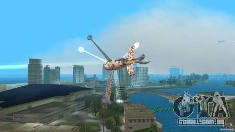 Conceptual Fighter Plane para GTA Vice City deixou vista