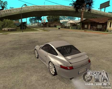 Porsche GT3 para GTA San Andreas esquerda vista