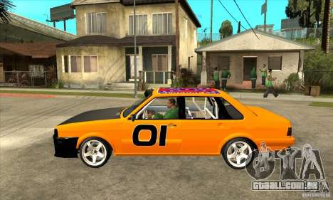Audi 80 para GTA San Andreas esquerda vista