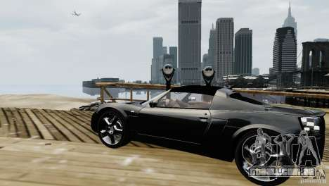Opel Speedster Turbo 2004 para GTA 4 esquerda vista