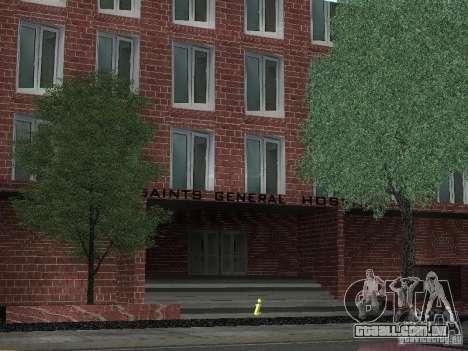 Novo hospital de texturas para GTA San Andreas segunda tela