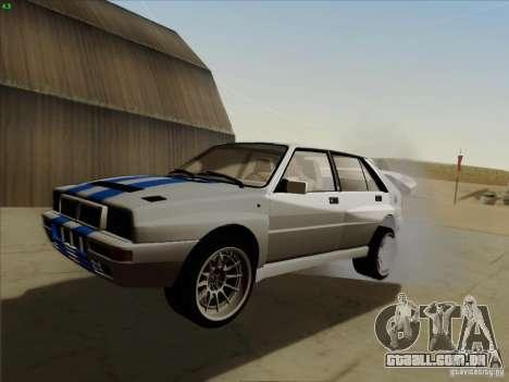 Lancia Integrale Evo para GTA San Andreas
