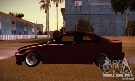 Honda Civic Tuning 2012 para GTA San Andreas esquerda vista