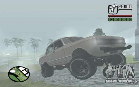 AZLK-2140 4x4 para GTA San Andreas esquerda vista
