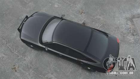 Dodge Charger RT Hemi FBI 2007 para GTA 4 traseira esquerda vista