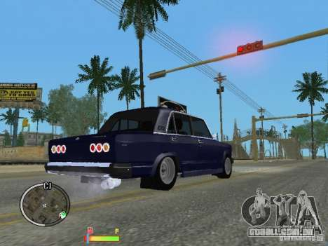 VAZ 2105 para GTA San Andreas esquerda vista