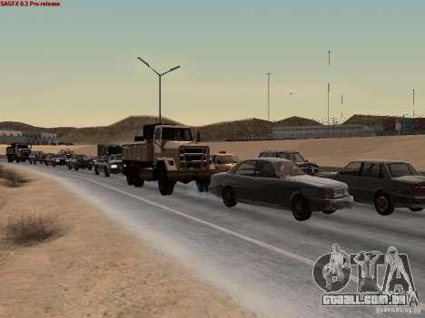 Realistic traffic stream para GTA San Andreas