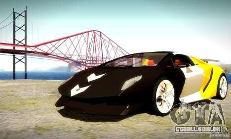 Lamborghini Sesto Elemento para GTA San Andreas vista superior