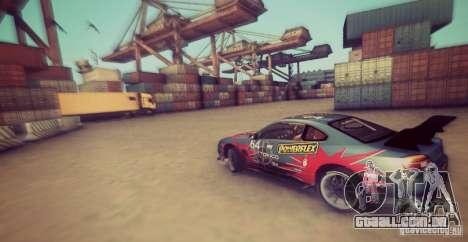 Tokyo Drift map para GTA San Andreas