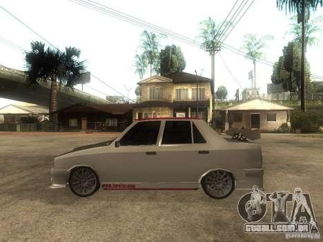 Renault 9 GTD para GTA San Andreas esquerda vista