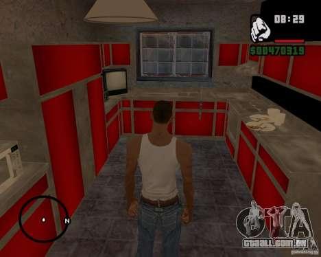 Casa caçador v 1.0 para GTA San Andreas por diante tela