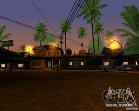 Real World ENBSeries v4.0 para GTA San Andreas por diante tela
