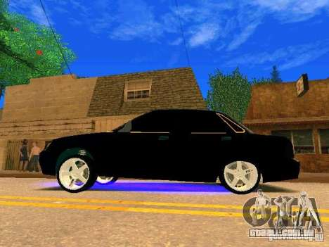 LADA 2170 Priora Gold Edition para GTA San Andreas vista interior