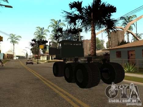 GAZ 66 Saiga para GTA San Andreas vista direita