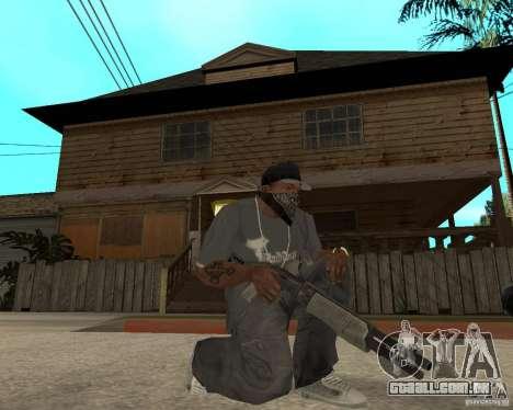 SPAS-12 para GTA San Andreas segunda tela