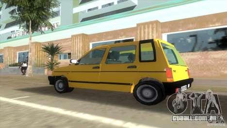 Daewoo Tico para GTA Vice City vista traseira esquerda