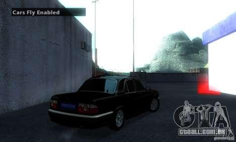 GAZ Volga 31105 advogado para GTA San Andreas traseira esquerda vista