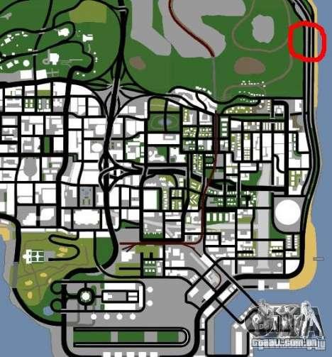 Posto policial 2 para GTA San Andreas quinto tela