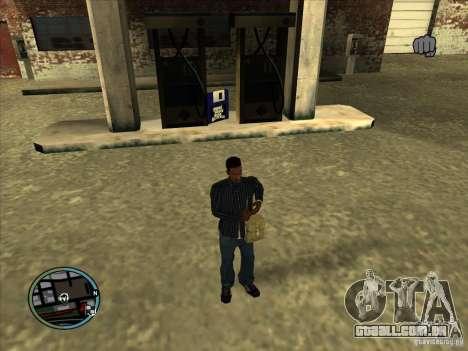 SA IV WEAPON SCROLL 2.0 para GTA San Andreas terceira tela