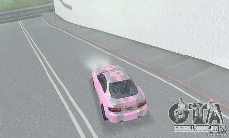 Toyota Celica GT4 2000 para GTA San Andreas interior
