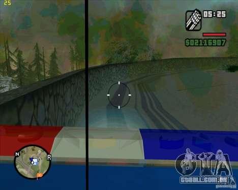 U.S.M.C. Desant para GTA San Andreas quinto tela