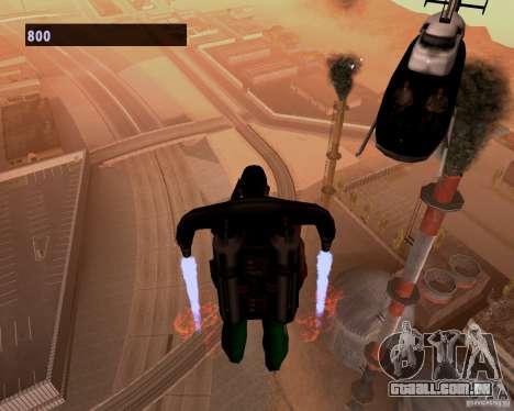 Pilotos de helicópteros para GTA San Andreas terceira tela