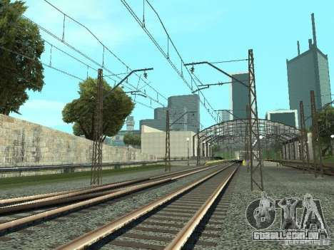 Rede de contactos para GTA San Andreas segunda tela