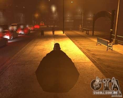 Dart Vader para GTA 4 por diante tela