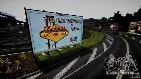 Realistic Airport Billboard para GTA 4 quinto tela