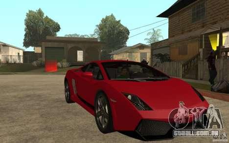 Lamborghini Gallardo LP 570 4 Superleggera para GTA San Andreas