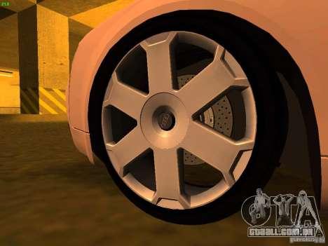 Audi S4 OEM para GTA San Andreas vista direita