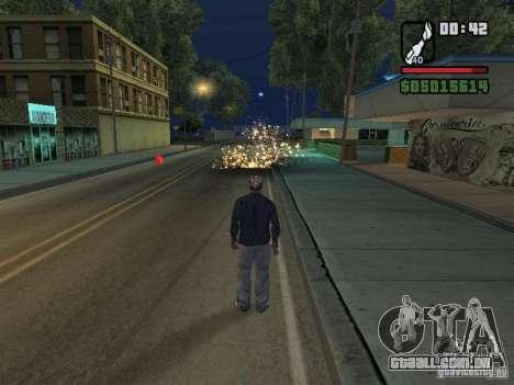New Realistic Effects para GTA San Andreas por diante tela
