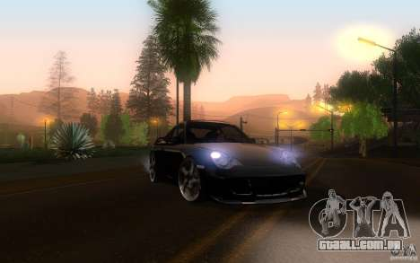 Ruf R-Turbo para GTA San Andreas vista interior