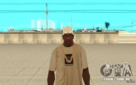 Bandana branco para GTA San Andreas